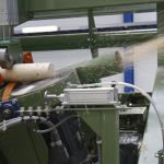 Pointing and chamfering machine