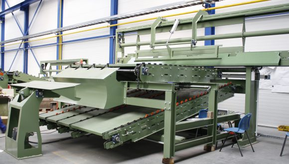conveyer wood processing