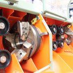 double heat wood pole rounding machine Bezner-Oswald