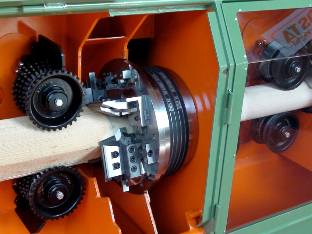Wood rounding and profiling machine manufacturer