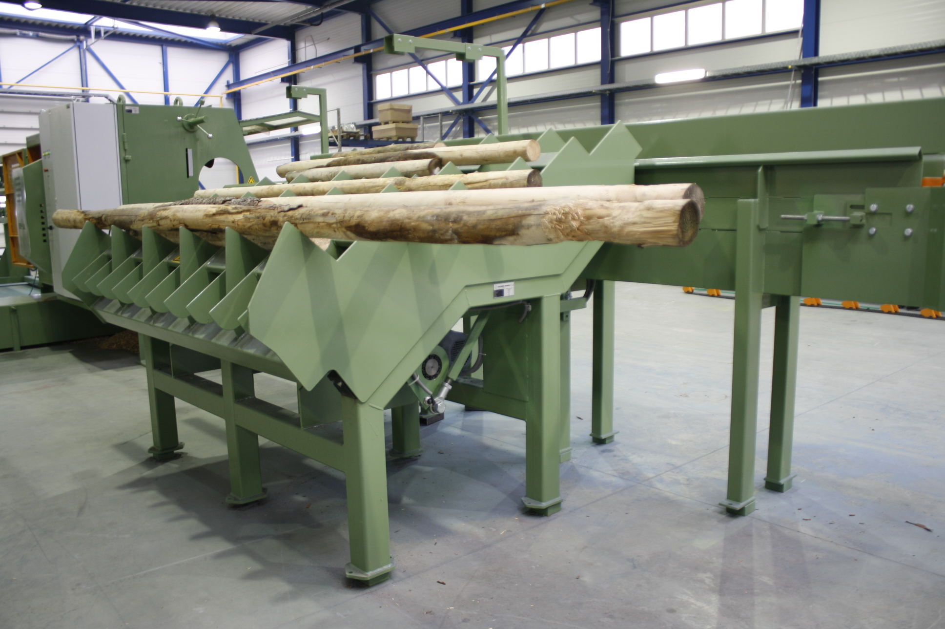 automatic line for wood processing Bezner-Oswald